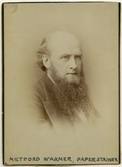 Metford Warner, by Unknown photographer - NPG x27277