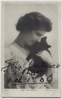 Ethel Warwick, published by Rotary Photographic Co Ltd - NPG x27286