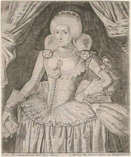 Anne of Denmark, after Unknown artist - NPG D10618