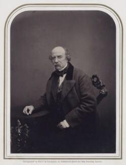 Sir William Fenwick Williams, 1st Bt, by Maull & Polyblank - NPG x27329