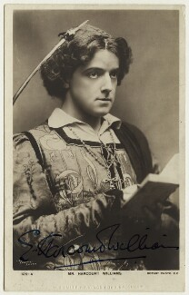 Ernest George Harcourt Williams as Romeo in 'Romeo and Juliet', by Lizzie Caswall Smith, published by  Rotary Photographic Co Ltd, circa 1905 - NPG  - © National Portrait Gallery, London
