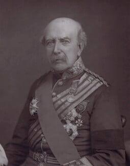 Sir William Fenwick Williams, 1st Bt, by Unknown photographer - NPG x27421