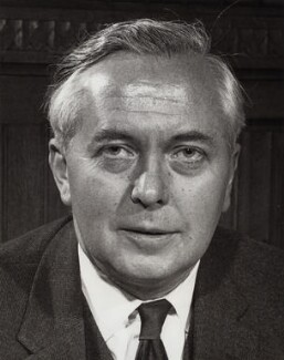 Harold Wilson, by Unknown photographer, for  Central Office of Information - NPG x27447