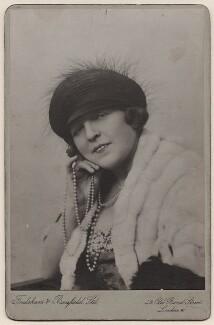 Marie Lloyd, by Foulsham & Banfield - NPG x27492