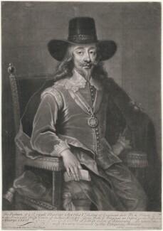 King Charles I, by John Faber Jr, after  Edward Bower - NPG D10627