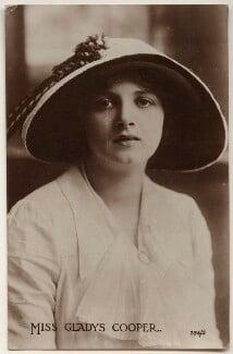 Dame Gladys Cooper, by Bassano Ltd - NPG x27515