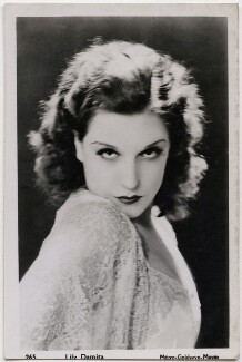 Lily Damita, by Unknown photographer, printed and published by  Publicity Photographs Ltd - NPG x27520