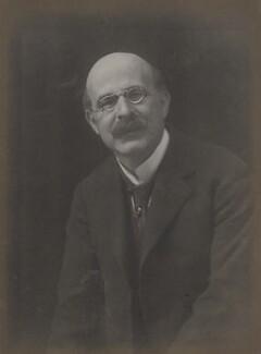 Sir Israel Gollancz, by Walter Stoneman - NPG x27573