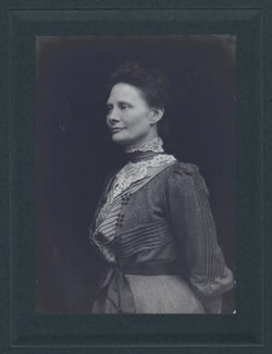 Dame Emily Penrose, probably by C.W. Carey - NPG x27610