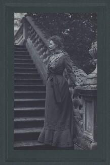 Dame Emily Penrose, probably by C.W. Carey - NPG x27611