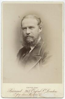 John Lubbock, 1st Baron Avebury, by Herbert Rose Barraud, 1880s - NPG x27769 - © National Portrait Gallery, London