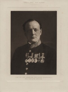 Winston Churchill, by Elliott & Fry - NPG x27772