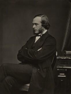 Joseph Lister, Baron Lister, by John Moffat - NPG x27776