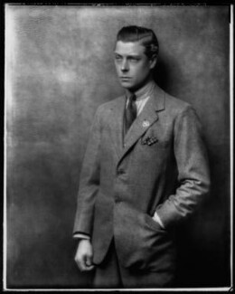 Prince Edward, Duke of Windsor (King Edward VIII), by Hugh Cecil (Hugh Cecil Saunders) - NPG x27879