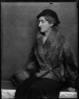 Margaret Emma Alice ('Margot') Asquith (née Tennant), Countess of Oxford and Asquith, by Hugh Cecil (Hugh Cecil Saunders) - NPG x27885