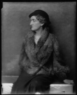 Margot Asquith, by Hugh Cecil (Hugh Cecil Saunders) - NPG x27886