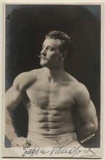 Eugen Sandow, probably by Warwick Brookes - NPG x28055