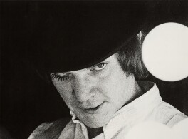 Malcolm McDowell in 'A Clockwork Orange', by Unknown photographer - NPG x28061