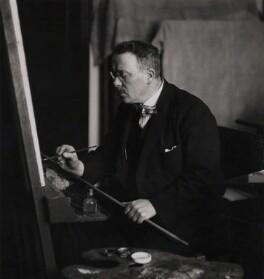 Francis Dodd, by Augustus Charles Cooper - NPG x28094