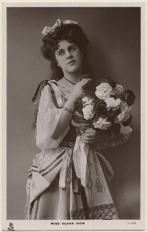 Clara Dow, by The Dover Street Studios Ltd, published by  Raphael Tuck & Sons - NPG x28103