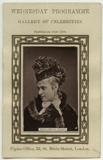 Camille Dubois, published by Figaro Office - NPG x28121