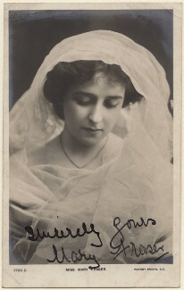 Mary Fraser, published by Rotary Photographic Co Ltd - NPG x28160