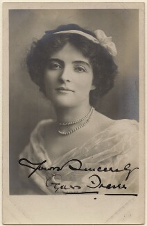 Agnes Fraser (Mrs Walter Passmore), by Unknown photographer - NPG x28162