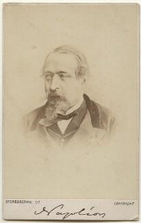 Napoléon III, Emperor of France, by London Stereoscopic & Photographic Company - NPG x28172