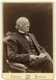 William Lloyd Garrison, by John Fergus - NPG x28191