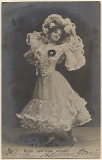 Dame Adeline Genée, by The Hana Studios Ltd, published by  Raphael Tuck & Sons - NPG x28196