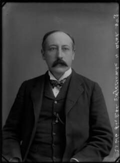 Sir (Edward) Robert Pearce Edgcumbe, by Alexander Bassano - NPG x28233