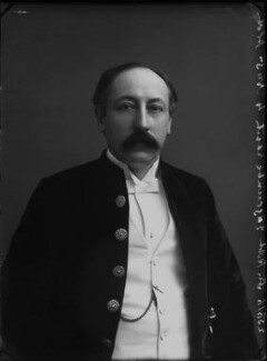 Sir (Edward) Robert Pearce Edgcumbe, by Alexander Bassano - NPG x28235