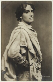 Basil Gill as Ferdinand in 'The Tempest', by Lizzie Caswall Smith - NPG x28242