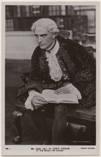 Basil Gill as Joseph Surface in 'The School for Scandal', by Daily Mirror, published by  J. Beagles & Co - NPG x28243