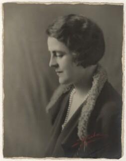 Gertrude Elliott, by Sasha (Alexander Stewart), 1920s - NPG x28340 - © Hulton Archive/Getty Images