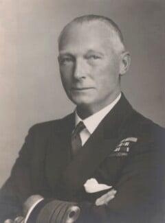 John Cronyn Tovey, 1st Baron Tovey, by Walter Stoneman - NPG x28356