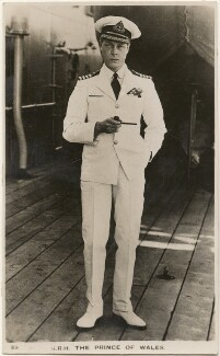 Prince Edward, Duke of Windsor (King Edward VIII), published by The Photochrom Co Ltd - NPG x28399