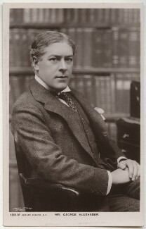 Sir George Alexander (George Samson), by The Dover Street Studios Ltd, published by  Rotary Photographic Co Ltd - NPG x284
