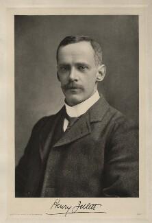 Henry Jellet, by Adolf Eckstein - NPG x28739