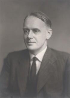 Sir John Richard Hicks, by Walter Stoneman - NPG x28986