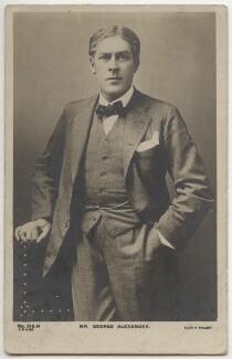 Sir George Alexander (George Samson), by Alfred Ellis & Walery, published by  J. Beagles & Co - NPG x290