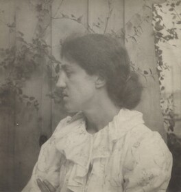 May Morris, by Unknown photographer - NPG x29070
