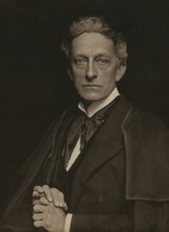 Sir Johnston Forbes-Robertson as The Stranger in 'The Passing of the Third Floor Back', by Lizzie Caswall Smith - NPG x29103