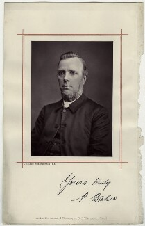 P. Baker, by John Tulson Clarke, published by  London Stereoscopic & Photographic Company - NPG x29122