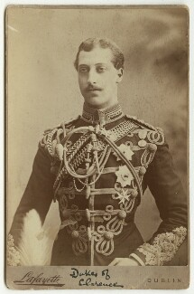 Prince Albert Victor, Duke of Clarence and Avondale, by Lafayette - NPG x29168