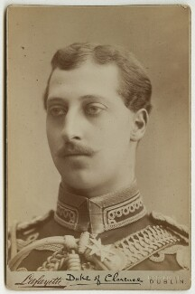 Prince Albert Victor, Duke of Clarence and Avondale, by Lafayette - NPG x29169