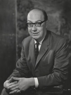 Philip Larkin, by Godfrey Argent - NPG x29215