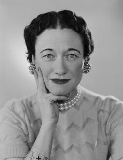 Wallis, Duchess of Windsor, by Dorothy Wilding - NPG x29434