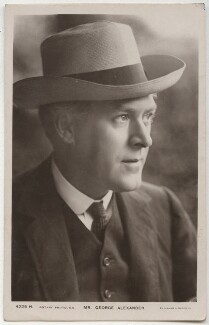 Sir George Alexander (George Samson), by Foulsham & Banfield, published by  Rotary Photographic Co Ltd - NPG x295
