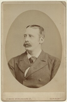 Clement William Scott, by London Stereoscopic & Photographic Company - NPG x29691